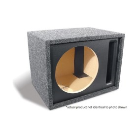 "Bass Slammer Single 10"" Vented Enclosure"