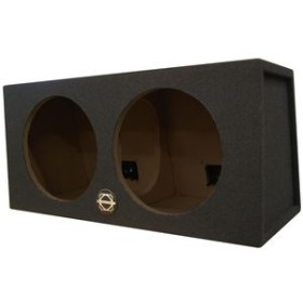 "BASSWORX STREET Dual 10"" sealed sub box"