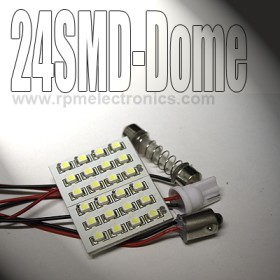 24 SMD LED Universal Dome Light