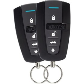 CLIFFORD 1-Way Security System (2, 4 button remotes)